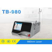 Quality 10W - 30W Lesion Vascular Removal 980 nm Diode Laser Machine 1-5 Hz Adjustable for sale