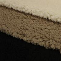 Commercial 100 Polyester Bonded Suede Fabric 350gsm~550gsm 300d/576f Yarn Count Manufactures