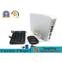 Software Casino Baccarat Min Max Board Limit Sign / Roulette Gambling System Manufactures