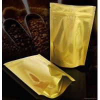 Laminated Coffee Plastic Packaging Bags Self-Standing , PET / AL / PE Manufactures