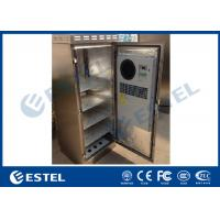 China 304 Stainless Steel IP55 Outdoor Telecom Cabinet Waterproof Corrosion Resistance  1. Cabinet Overview  This series cabi on sale