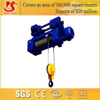 Low headroom compact underslung running remote control duty electric hoist Manufactures