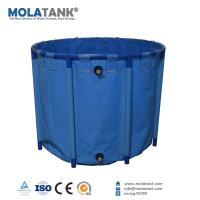 China Molatank PVC Plastic Outdoor Salt/ Fresh Water Fish Breeding Tank  providing OEM service Personalized Decorations on sale