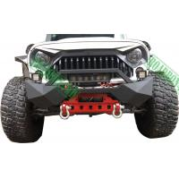 Wrangler wild leopard front bumper for Jeep Wrangler Jk 07-15 winch bumper for JK Wrangler Manufactures