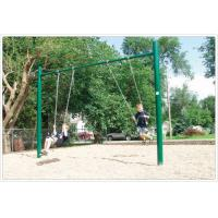 Quality Yellow Children Swing Sets For 5 - 12 Years Old SGS Certification for sale
