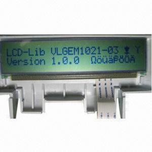 HB24208 Character Dot-matrix LCD Module, STN (Gray), Reflective/KS0073 (EQV) Control IC Manufactures