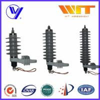 27KV High Voltage Surge Arrester Ceramic Silicone Housing with Hoop Manufactures