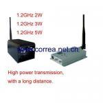 1.2GHz 3W wireless AV transmitter receiver Manufactures