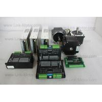 China 3 Axis Nema34 Stepper Motor 3.11N.m (438 oz.in) & Driver & Power Supply for CNC Kit on sale