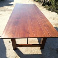 Quality Solid Wood Outdoor Folding Farmhouse Wedding Banquet Table Manufactures
