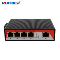 China 10/100M Industrial POE switch 5port RJ45 Din-rail DC48V power POE Ethernet network switch on sale