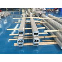 6063 T4 Thick Wall Aluminum Pipe Dual Tunnels High Corrosion Resistance Manufactures