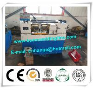 China Rebar CNC Drilling And Threading Machine , Steel Rod Threading Machine on sale