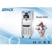 3 Compressors Commercial Soft Serve Frozen Yogurt Machine Two Control Systems Manufactures