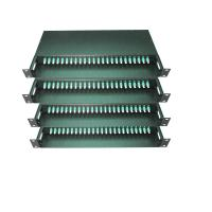 China 48 / 96 Fiber MPO/MTP Fiber Optic Patch Panel Termination Box 19 Inch SPECC Material on sale
