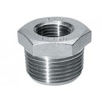 CNC Machined Stainless Steel Pipe Fitting Hexagon Bushing ss316 ss304 Manufactures