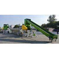 China plastic recycling granulating production line on sale