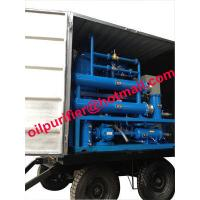 mobile and outdoor oil filtration machine mounted 4 wheels,Easily-Mobile Trailer Insulating Oil Purifier With Full Cover Manufactures