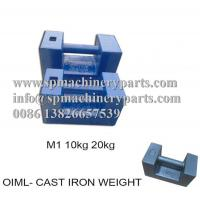 China Sand Casting Foundry Direct OEM Design Hardware &Tools Cast Iron Scale Test Weight Block With Hand Grip on sale