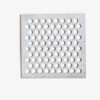 China Galvanized Perforated Mesh Panels , Perforated Plate Screens For Lighting Fixtures on sale