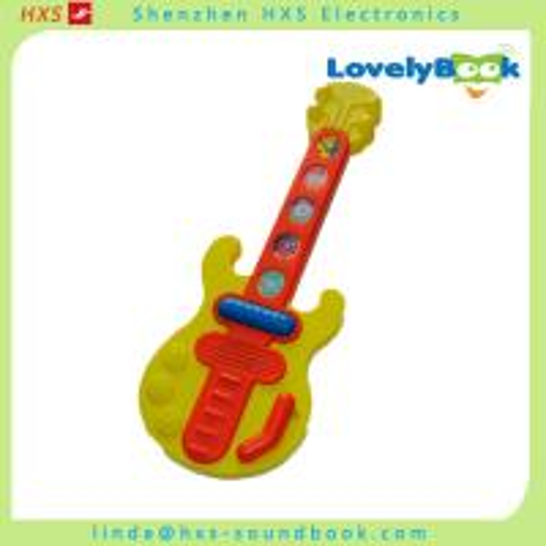Quality Shenzhen Factory Preschool Talking Book In Guitar Shape for sale