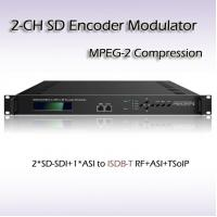 REM7204 Two-Channel SD-SDI TO ISDB-T/TB MPEG-2 SD Encoding Modulator Manufactures