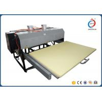 Large Format Textile Sublimation Heat Transfer Press Machine Double Stations Manufactures