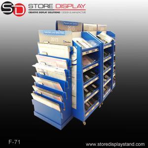 Calendars currugated cardboard displays stand shelf Manufactures