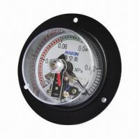 China Electric Contact Vacuum Pressure Gauge on sale