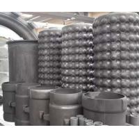 China Reaction Bonded Silicon Carbide Rbsic / Sisic Ceramics Shell Heat Exchanger on sale