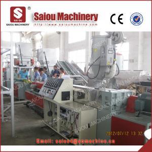 SAIOU plastic HDPE prestress flat pipe line Manufactures