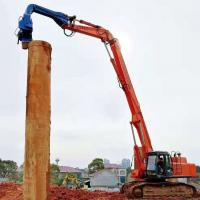 Stable Running Hydraulic Pile Driving Equipment Quick Converting Operation Manufactures