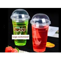 680ml~700ml Clear PET Disposable Juice Cups Manufactures
