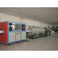 China Large Diameter PVC Pipe Extrusion Line With Twin Screw on sale