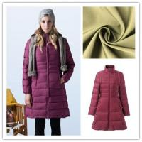 Lightweight Nylon Stretch Fabric Excellent Elasticity For Down - Jacket Manufactures