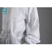 Buy cheap Industrial Cleanroom ESD Smock For Static Contamination Control Size M - 4XL from wholesalers