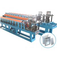 Galvanized Steel Sheet / Fire Damper Metal Roll Forming Machine With 10 - 15m / Min Forming Speed Manufactures