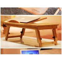 Buy cheap Foldable bamboo laptop table bamboo laptop tray bamboo laptop desk from wholesalers