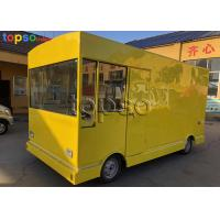 Runing Electric Mobile Food Truck Catering Heavy Duty For  Tourism Spots Manufactures