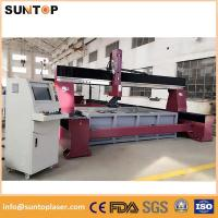 China Dynamic 5 axis cnc water jet cutting machine for granite and marble on sale