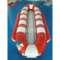 Customized10 Seats Inflatable Banana Boat / Inflatable Water Ski For Lake Manufactures