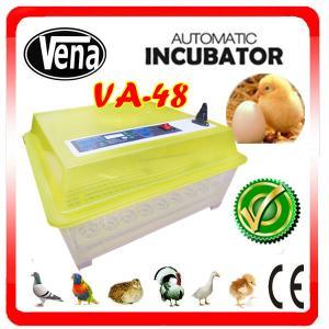 China Big capacity parrot hatching eggs incubator high-performance VA-48(12V) on sale