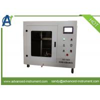 Vertical Flame Spread Properties of Flexible Materials Test Equipment ISO 15025 Manufactures