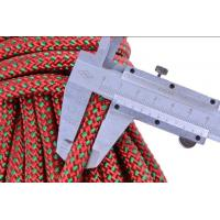 dia:10.5mm Nylon 32 braided safety outdoor rock tree climbing static escape rescue rope cord Manufactures