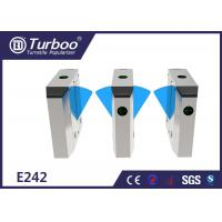 Multiple Sensors Flap Barrier Turnstile Access Control For Metro Station Manufactures