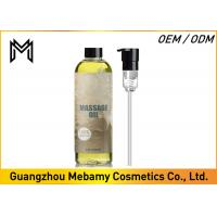 China Liquid Skin Care Massage Oil , Aromatherapy Essential Oils For Personal Lubricant on sale