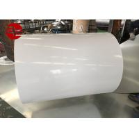 Prepainted Cold Rolled Galvanized Steel Coil / PPGI Color Coated Sheets Manufactures