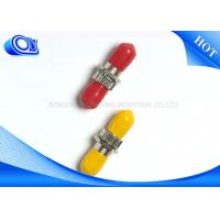 ST SM Fiber Optical Adapter For Telecommunication networks Manufactures