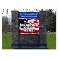 Quality Front Maintenance P10 Outdoor LED Signs Advertising with OPTO / SILAN for sale