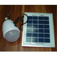 Camping / Reading 2V / 6W Solar LED Emergency Light with USB Charger Manufactures